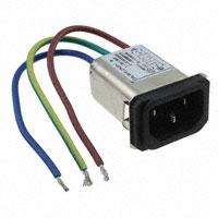 TE Connectivity Corcom Filters - 3-6609006-8 - PWR ENT RCPT IEC320-C14 PNL WIRE