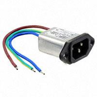 TE Connectivity Corcom Filters - 3-6609008-1 - PWR ENT RCPT IEC320-C14 PNL WIRE