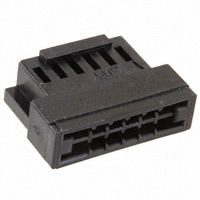 TE Connectivity AMP Connectors - 3-88179-4 - CONN FFC RCPT HSG 12POS 2.54MM