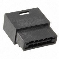 TE Connectivity AMP Connectors - 3-88189-0 - CONN FFC PIN HSG 10POS 2.54MM