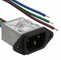 TE Connectivity Corcom Filters - 6609014-8 - PWR ENT RCPT IEC320-C14 PNL WIRE