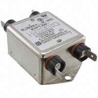 TE Connectivity Corcom Filters - 1-6609037-1 - LINE FILTER 250VAC 3A CHASS MNT