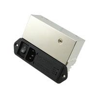 TE Connectivity Corcom Filters - 3EXM4S - PWR ENT MOD RCPT IEC320-C14 PNL