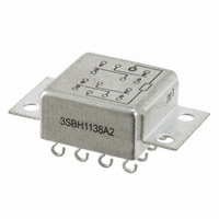TE Connectivity Aerospace, Defense and Marine - 3SBH1138A2 - RELAY GEN PURPOSE 4PDT 2A 26.5V