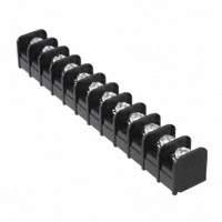 "TE Connectivity AMP Connectors - NC6-P108-12 - CONN BARRIER STRP 12CIRC 0.375"""