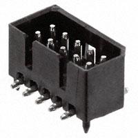 "TE Connectivity AMP Connectors - 4-174821-0 - CONN HEADR 0.049"" 10POS SMT TIN"