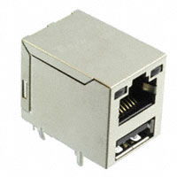 TE Connectivity AMP Connectors - 4-1775855-1 - CONN MOD JACK 8P8C R/A SHIELDED