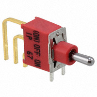 TE Connectivity ALCOSWITCH Switches - 4-1825142-2 - SWITCH TOGGLE SPDT 0.4VA 20V