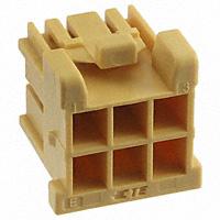 TE Connectivity AMP Connectors - 4-1971905-3 - GRACE INERTIA PLUG HOUSING 6POS