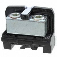 TE Connectivity AMP Connectors - 427-BU - TERM BLK NEMA 2POS BLACK