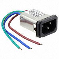 TE Connectivity Corcom Filters - 4-6609006-1 - PWR ENT RCPT IEC320-C14 PNL WIRE
