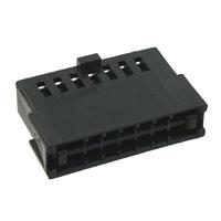 TE Connectivity AMP Connectors - 487223-2 - CONN FFC RCPT HSG 14POS 2.54MM