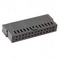 TE Connectivity AMP Connectors - 487223-7 - CONN FFC RCPT HSG 26POS 2.54MM