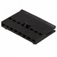 TE Connectivity AMP Connectors - 487769-6 - CONN FFC RCPT HSG 8POS 2.54MM