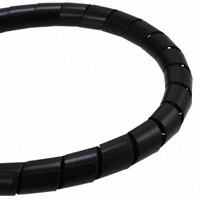 """TE Connectivity Raychem Cable Protection - 500037-1 - SPIRAL WRAP 1/2"""" X 50' BLACK"""