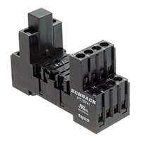 TE Connectivity Potter & Brumfield Relays - 5-1415034-1 - SOCKET W/SCREW FOR DINRAIL