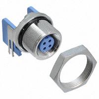 TE Connectivity AMP Connectors - 5-1437719-7 - CONN RCPT SKT 4POS SLD PNL R/A