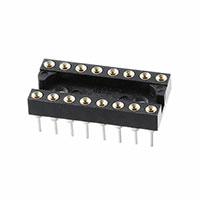 TE Connectivity AMP Connectors - 516-AG11D - CONN IC DIP SOCKET 16POS GOLD