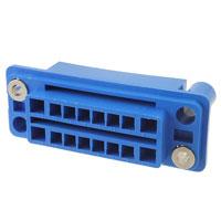 TE Connectivity AMP Connectors - 5172068-3 - CONN RCPT HOUSING 16POS PNL MNT