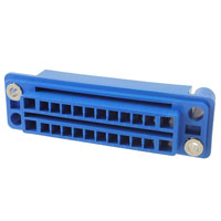 TE Connectivity AMP Connectors - 5172625-3 - CONN RCPT HSNG 24POS BLUE PNL MT