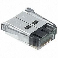 TE Connectivity AMP Connectors - 5-1761184-3 - CONN PLUG 8POS SDL 24AWG AU FLAT
