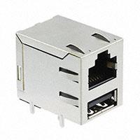 TE Connectivity AMP Connectors - 5-1775855-1 - CONN MOD JACK 8P8C R/A SHIELDED