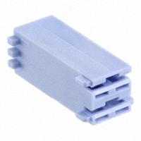 TE Connectivity AMP Connectors - 521204-1 - CONN RCPT HOUSING 0.25 2POS BLUE