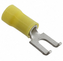 TE Connectivity AMP Connectors - 52856-1 - CONN SPADE TERM 10-12AWG #10 YEL