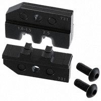 TE Connectivity AMP Connectors - 539731-2 - TOOL DIE SET FOR 6.3MM FF