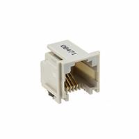 TE Connectivity AMP Connectors - 5406545-1 - CONN MOD JACK 6P4C R/A UNSHLD