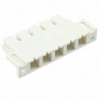 TE Connectivity AMP Connectors - 54489-5 - CONN HOUSING 5POS W/FLANGE NAT