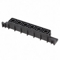 TE Connectivity AMP Connectors - 556881-6 - CONN RCPT 6POS 11.18MM PCB SLDR