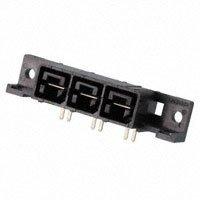 TE Connectivity AMP Connectors - 556882-3 - CONN RCPT 3POS 11.18MM R/A SLDR