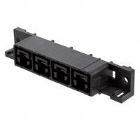 TE Connectivity AMP Connectors - 556882-4 - CONN RCPT 4POS 11.18MM R/A SLDR