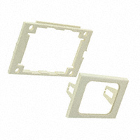 TE Connectivity AMP Connectors - 557364-1 - FACEPLATE SNGL GANG 1PORT ALMOND