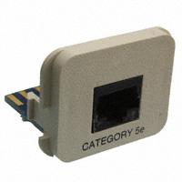 TE Connectivity AMP Connectors - 558909-1 - INSERT RJ45 JACK TO PCB