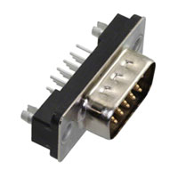 TE Connectivity AMP Connectors - 5750489-1 - CONN D-SUB HD PLUG 15P VERT SLDR