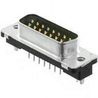 TE Connectivity AMP Connectors - 5750638-1 - CONN D-SUB PLUG 15POS VERT SLDR