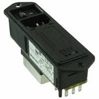 TE Connectivity Corcom Filters - 5EHM4S - PWR ENT MOD RCPT IEC320-C14 PNL