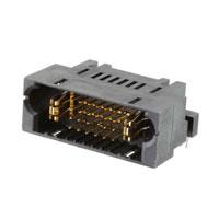 TE Connectivity AMP Connectors - 6450840-7 - MBXLE R/A HEADER 1P+24S+1P
