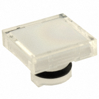 TE Connectivity ALCOSWITCH Switches - 64S9 - LENS SET SQUARE WHITE 3PCS
