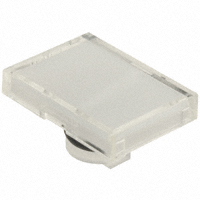 TE Connectivity ALCOSWITCH Switches - 64T9 - LENS SET RECT WHITE 3PCS