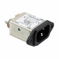 TE Connectivity Corcom Filters - 6609014-1 - PWR ENT RCPT IEC320-C14 PANEL QC