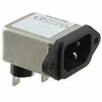TE Connectivity Corcom Filters - 6EF2F - PWR ENT RCPT IEC320-C14 PANEL QC