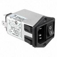 TE Connectivity Corcom Filters - 6609114-9 - PWR ENT MOD RCPT IEC320-C14 PNL