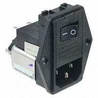 TE Connectivity Corcom Filters - 6609122-4 - PWR ENT MOD RCPT IEC320-C14 PNL