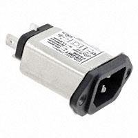 TE Connectivity Corcom Filters - 6609985-4 - PWR ENT RCPT IEC320-C14 PANEL QC