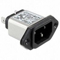 TE Connectivity Corcom Filters - 6609987-2 - PWR ENT RCPT IEC320-C14 PANEL QC