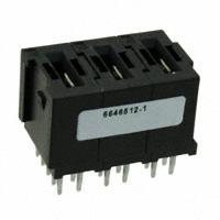 TE Connectivity AMP Connectors - 6646512-1 - CONN SKT STR COMPL FLATPAQ