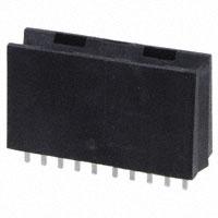 TE Connectivity AMP Connectors - 6650380-1 - CONN EDGE DUAL FEMALE 4POS 0.508